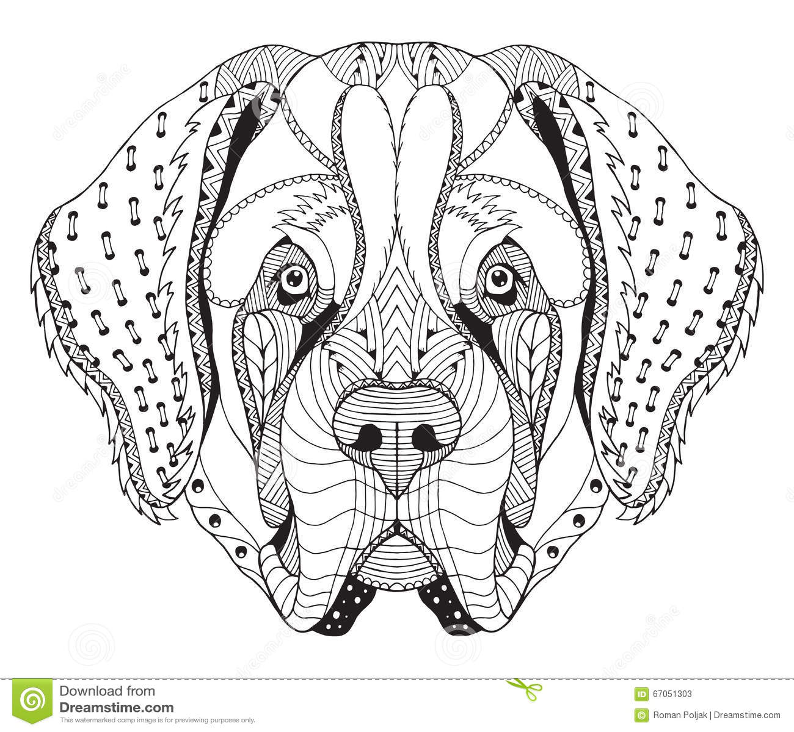 Dogs Easy Henna