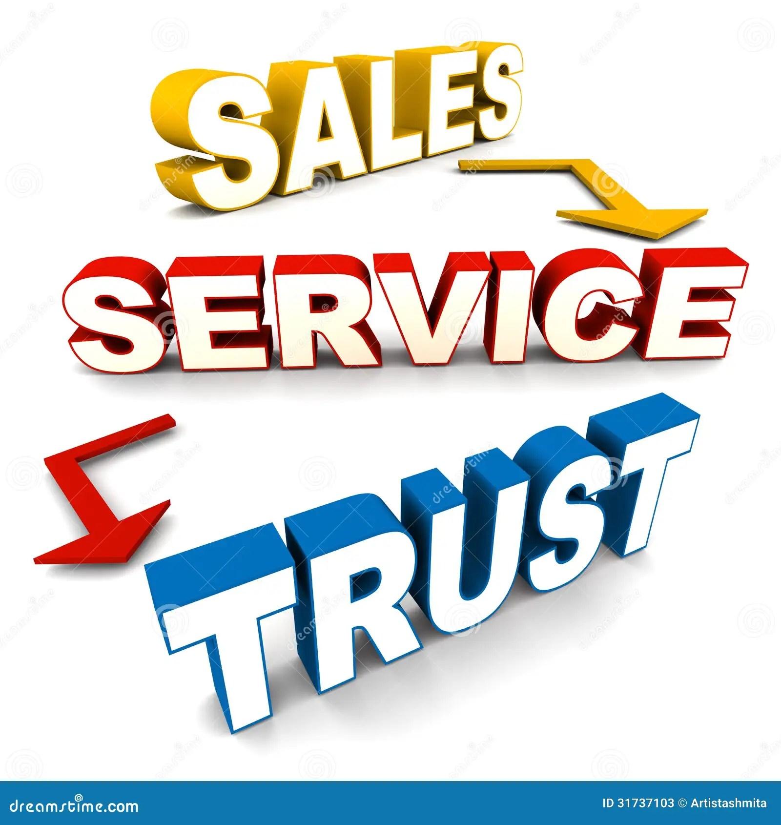 Sales Service Trust Stock Photos  Image 31737103