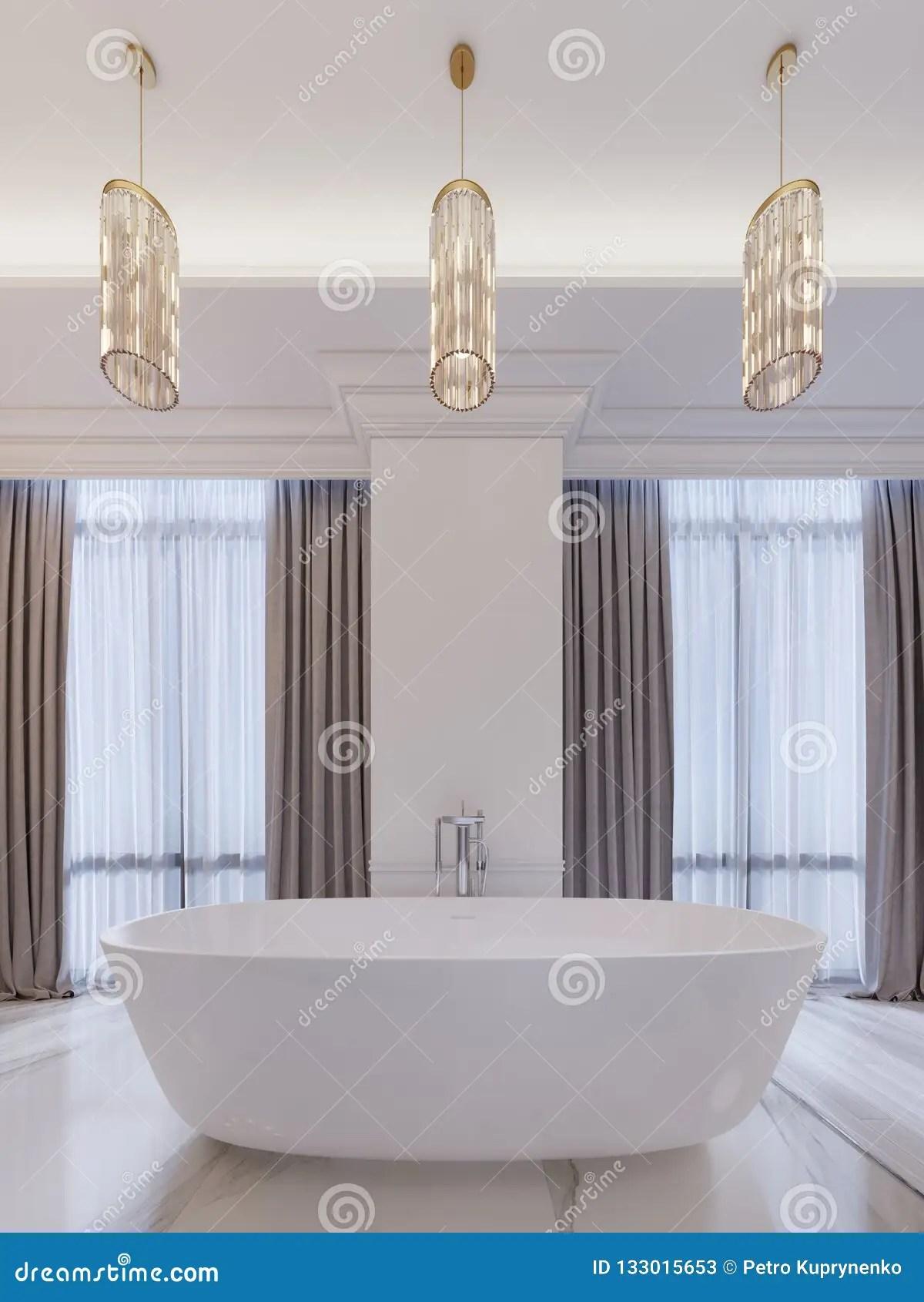 lustre accrochant rideaux salle