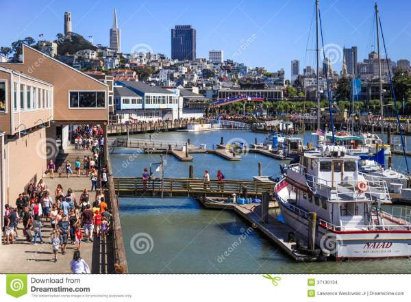 Wharf San Francisco Visitors Map Imgurl