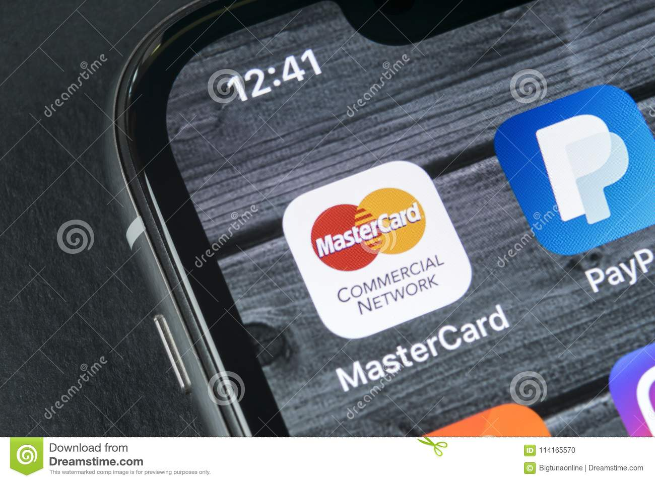 Mastercard Application Icon On Apple Iphone X Screen Close Up Master Card Icon Mastercard Online Application Social Media App Editorial Image Image Of April Debit 114165570