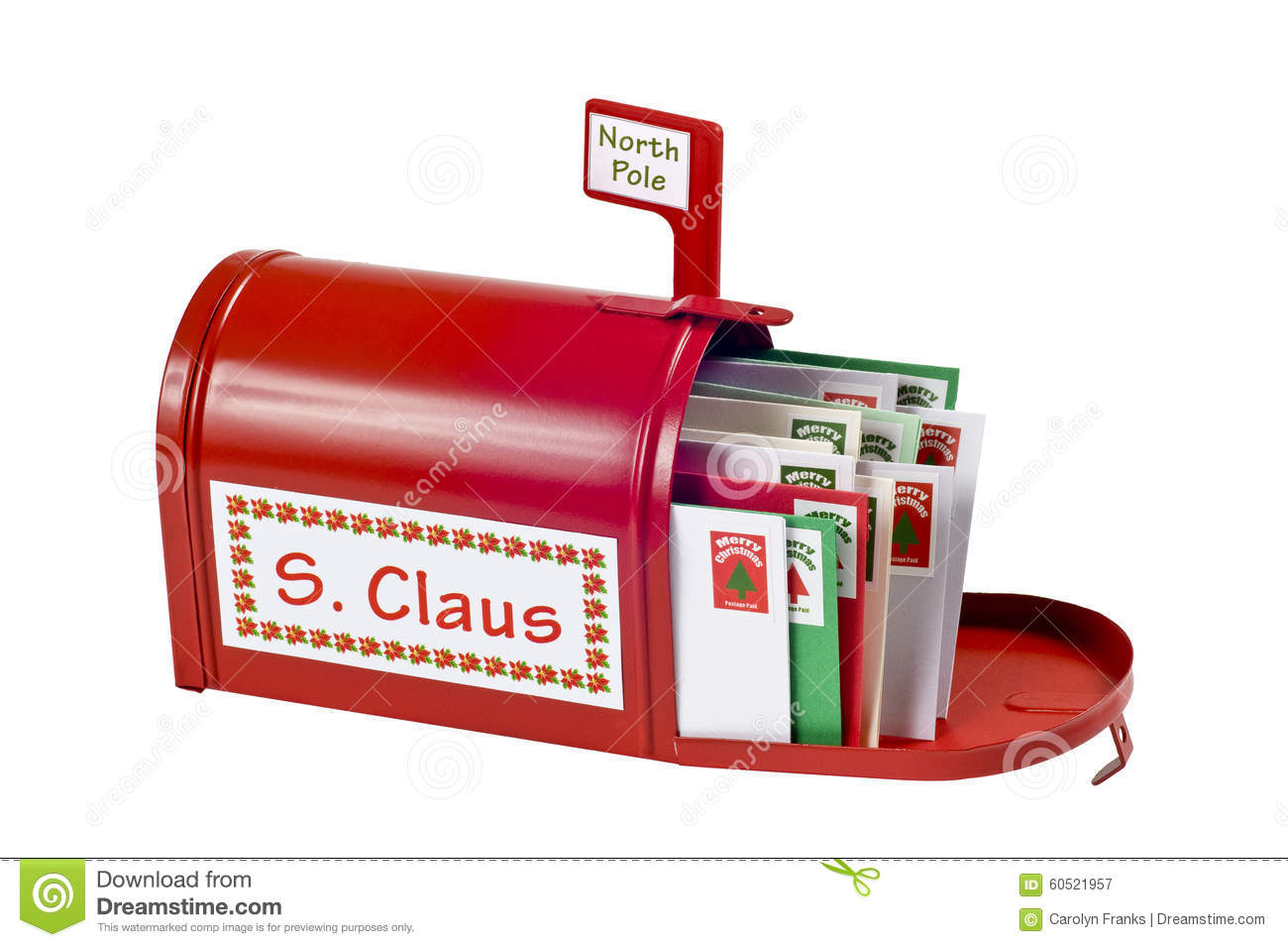 Santaa S Mailbox Stock Image Image Of People Cultures