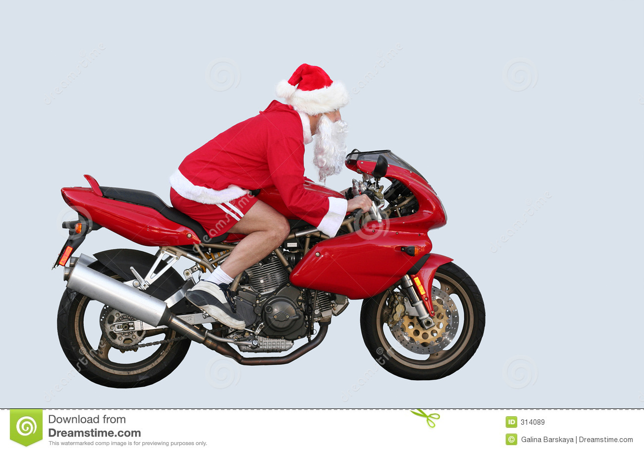 Santa Claus In CA Royalty Free Stock Images Image 314089