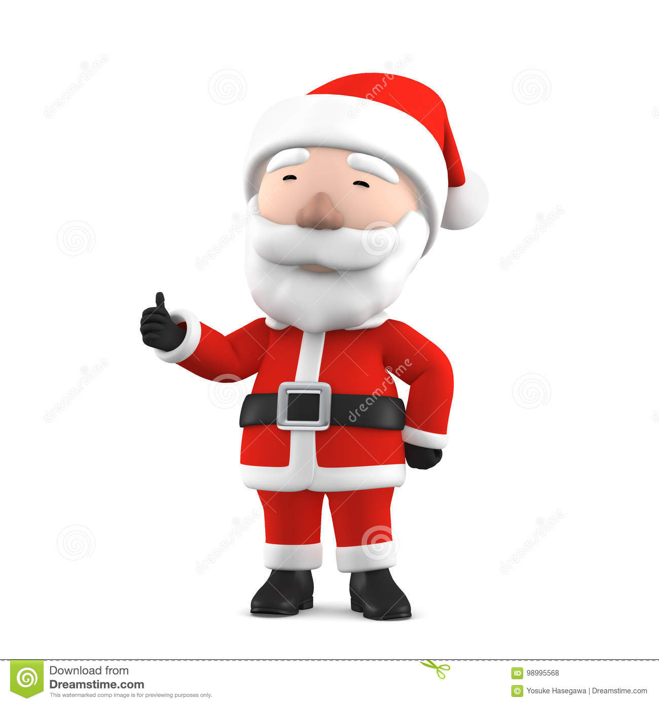 hight resolution of 3d render of santa claus happy christmas icon funny cartoon christmas grandpa symbol isolated on white background