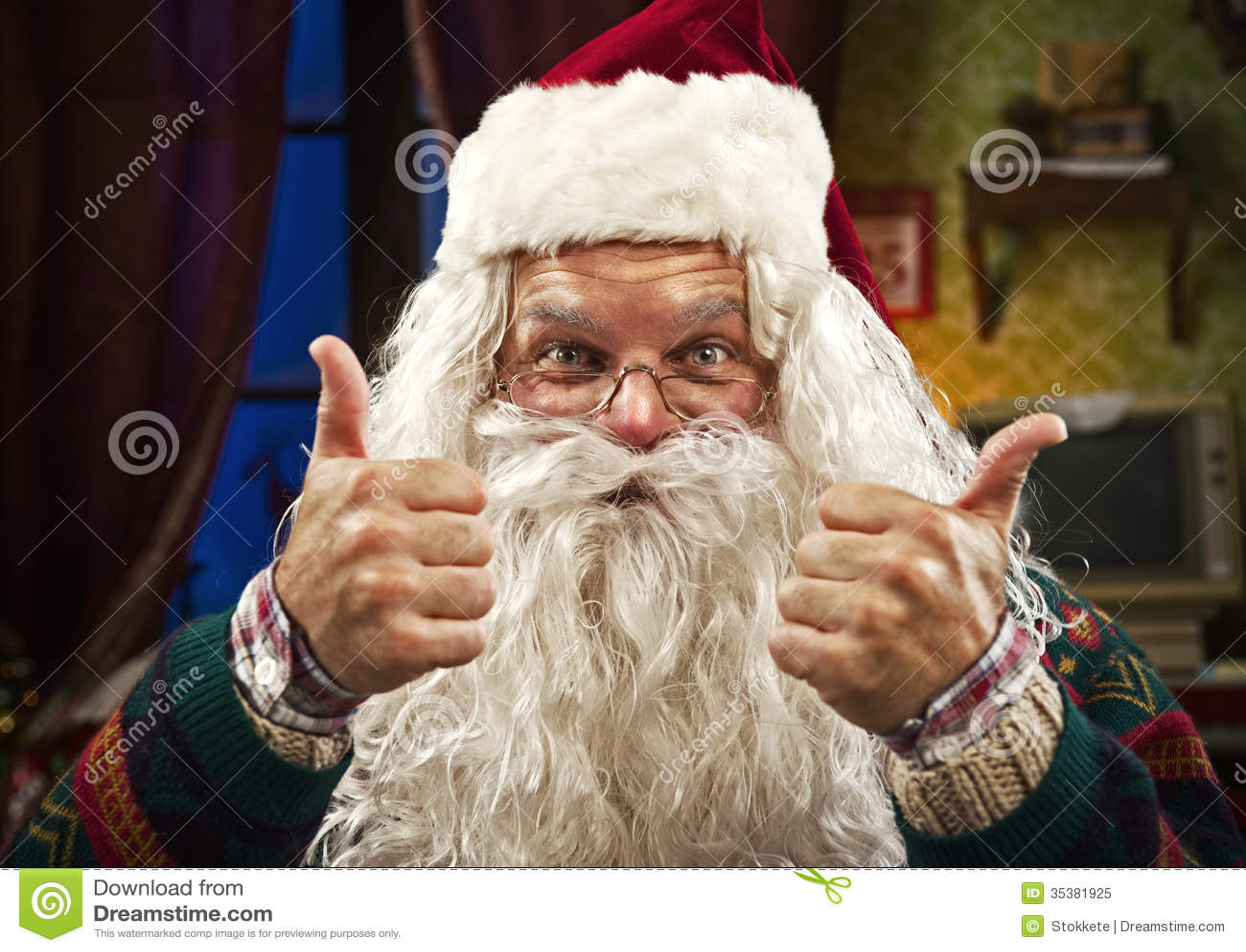 Santa Claus Royalty Free Stock Photo  Image 35381925