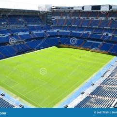 Soccer Team Chairs Lawn Chair Webbing Walmart Santiago Bernabeu Stadium Of Real Madrid Editorial Stock Image - Image: 26517059