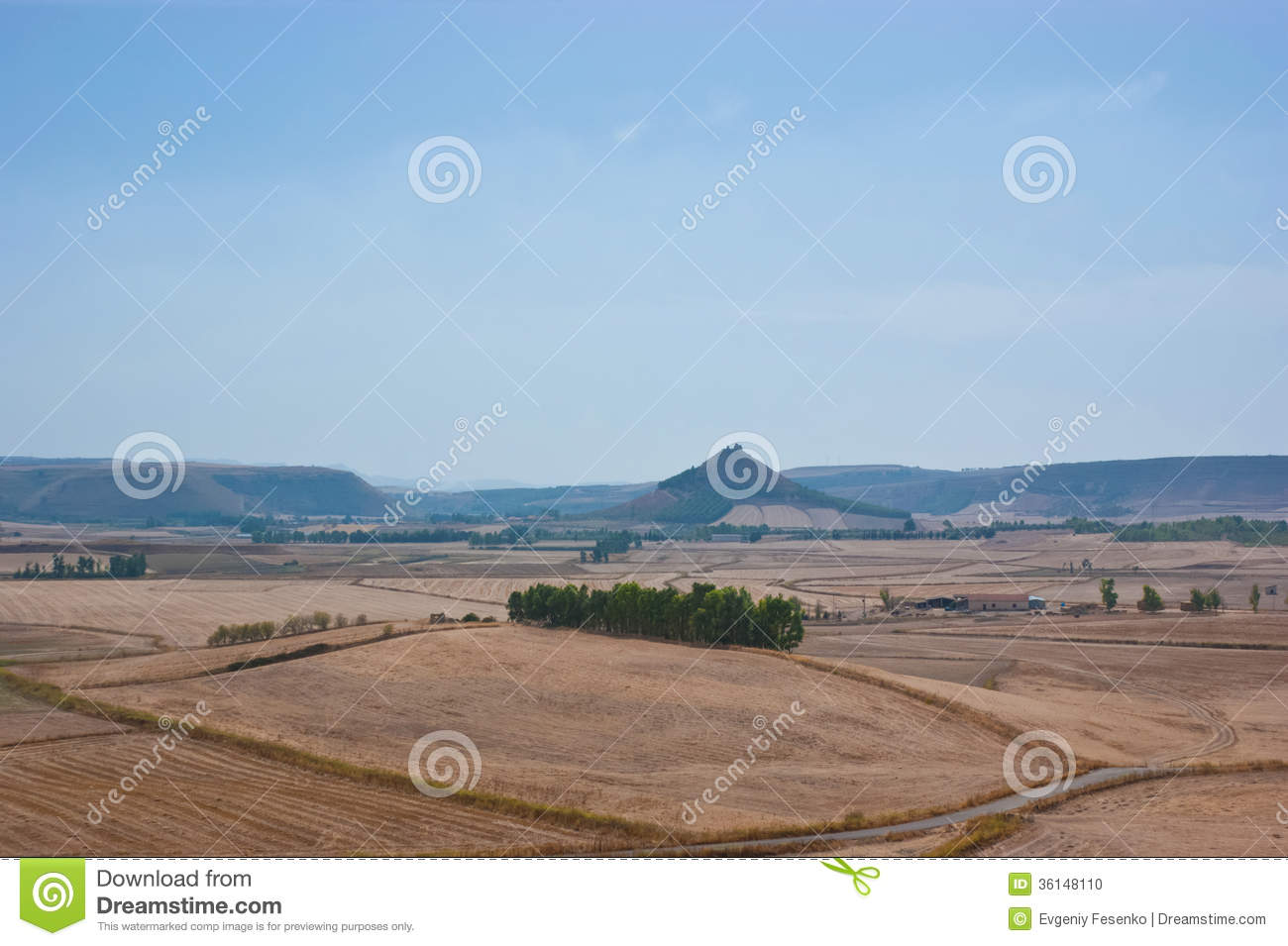 Sardinian Rural Landscape Stock Photo  Image 36148110