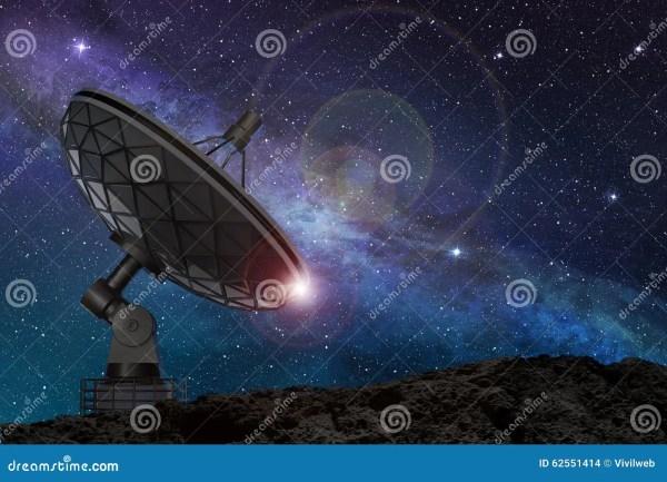 Starry Night Sky Satellites