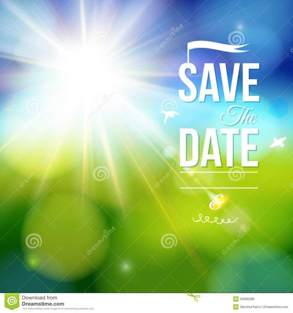 Holiday Save the Date Clip Art Free