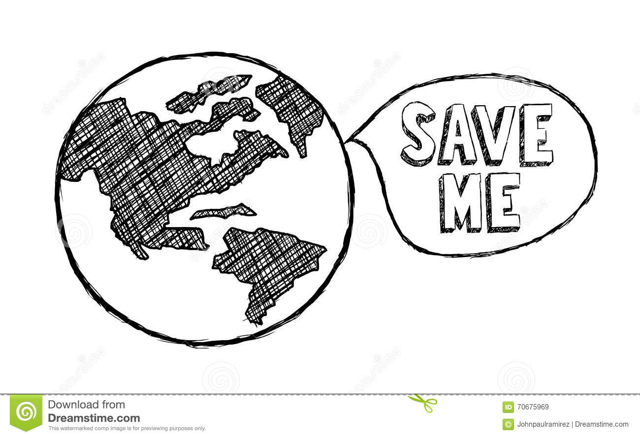 Save The Earth, Climate Change, Ecology, Environment Stock