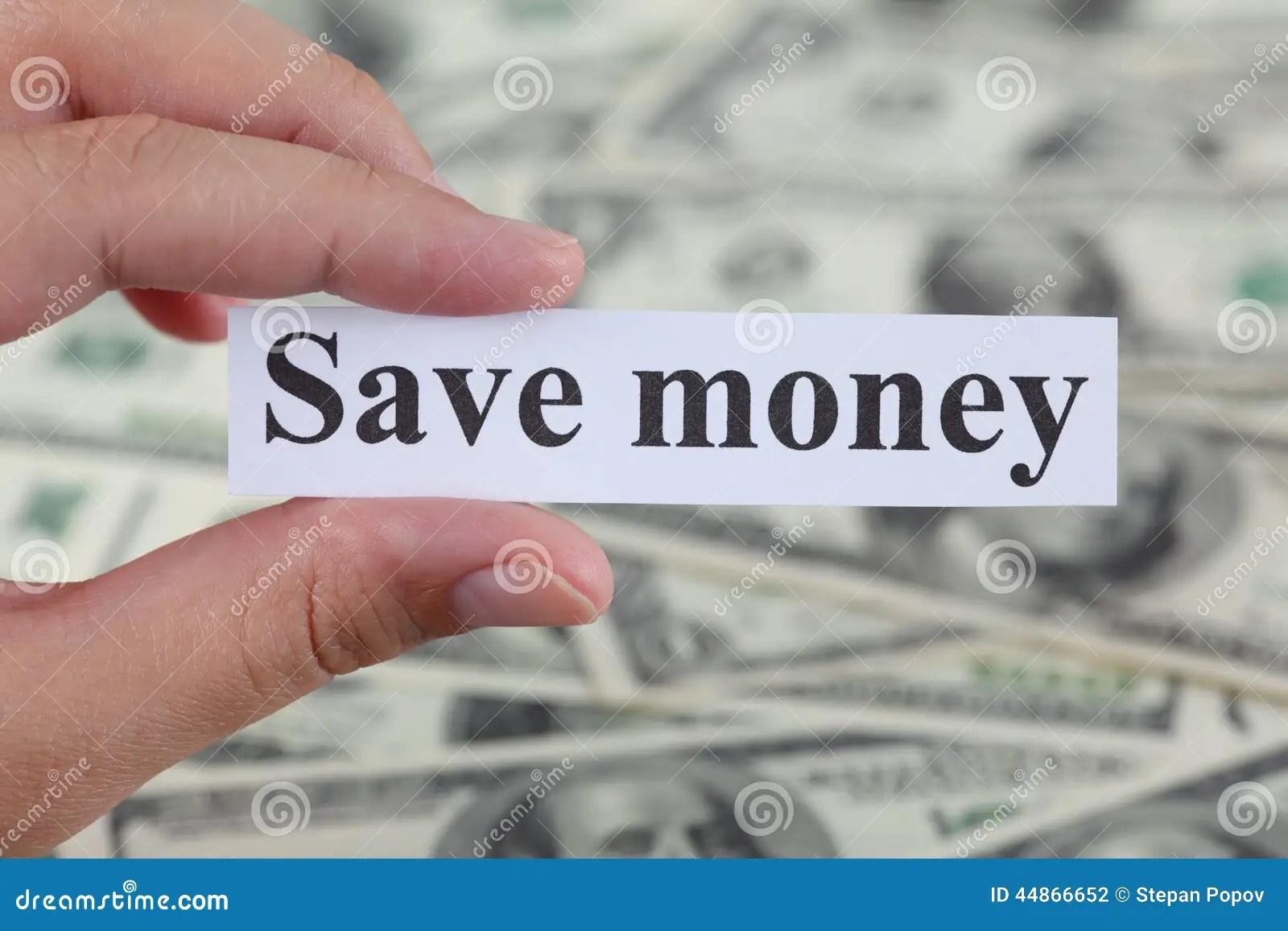 Save Money Stock Photo  Image 44866652