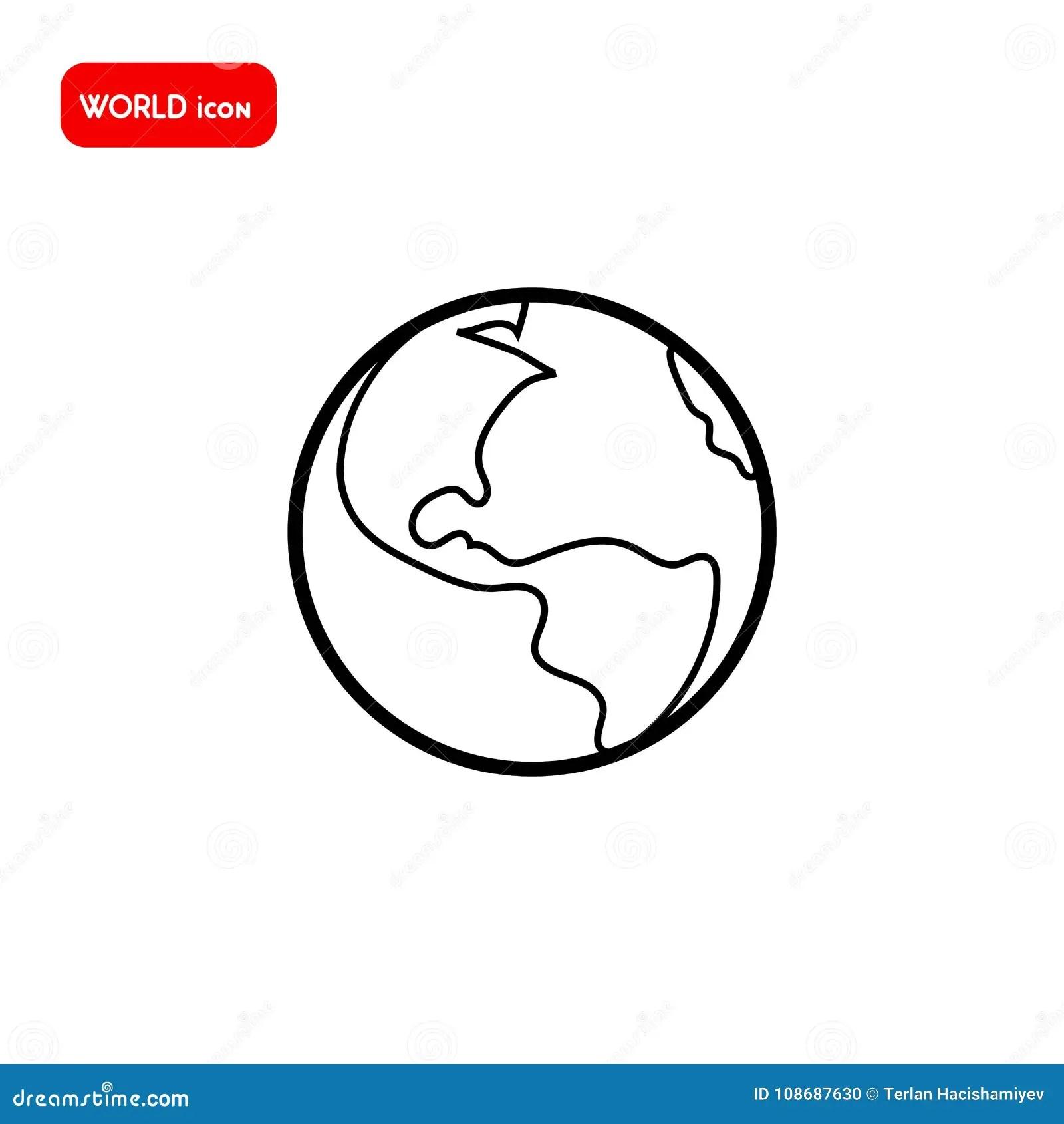 Save The World Sketch Idea Concept Vector Vector