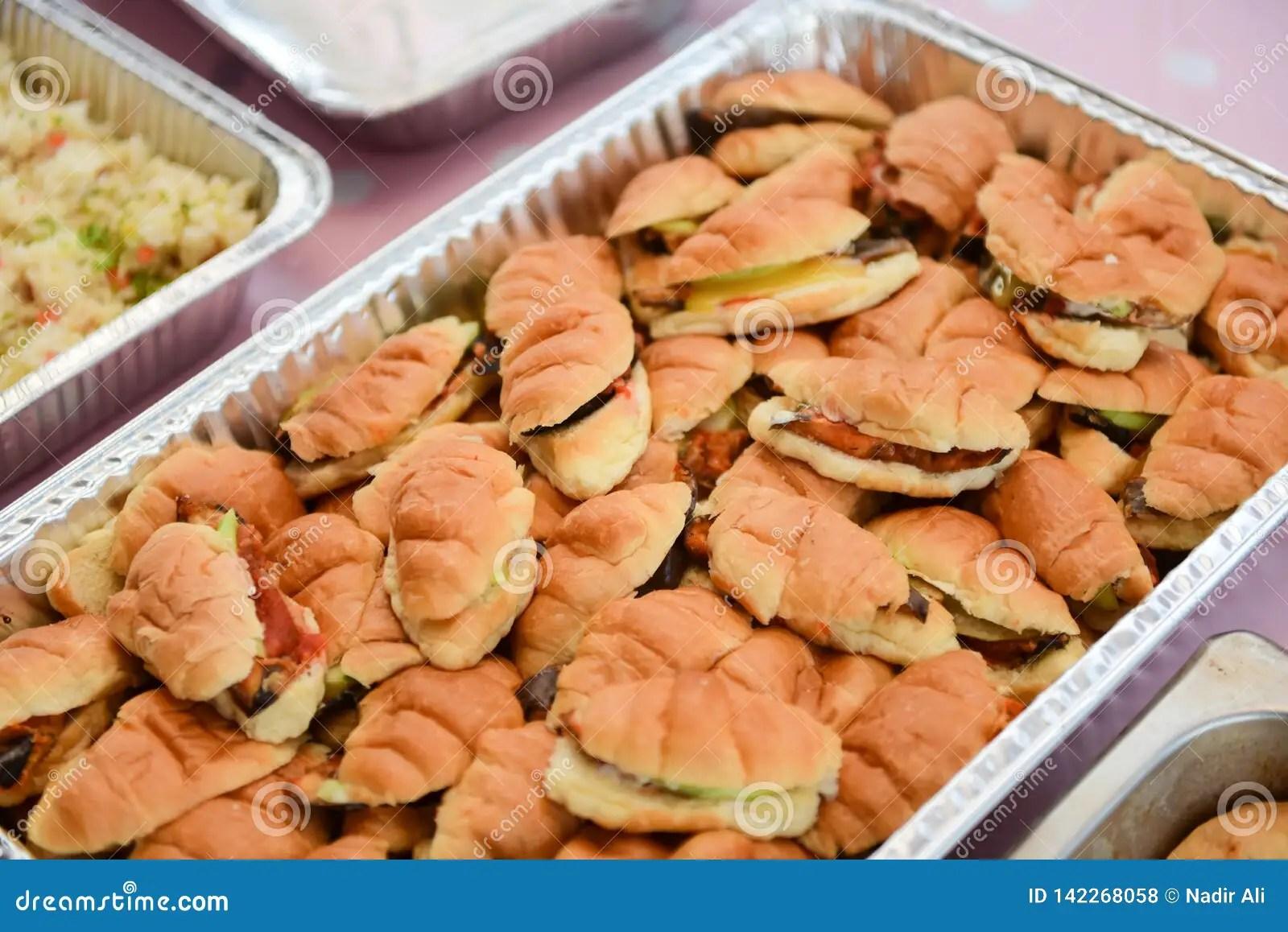 savory finger food at