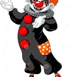 scary halloween clown presenting [ 982 x 1300 Pixel ]