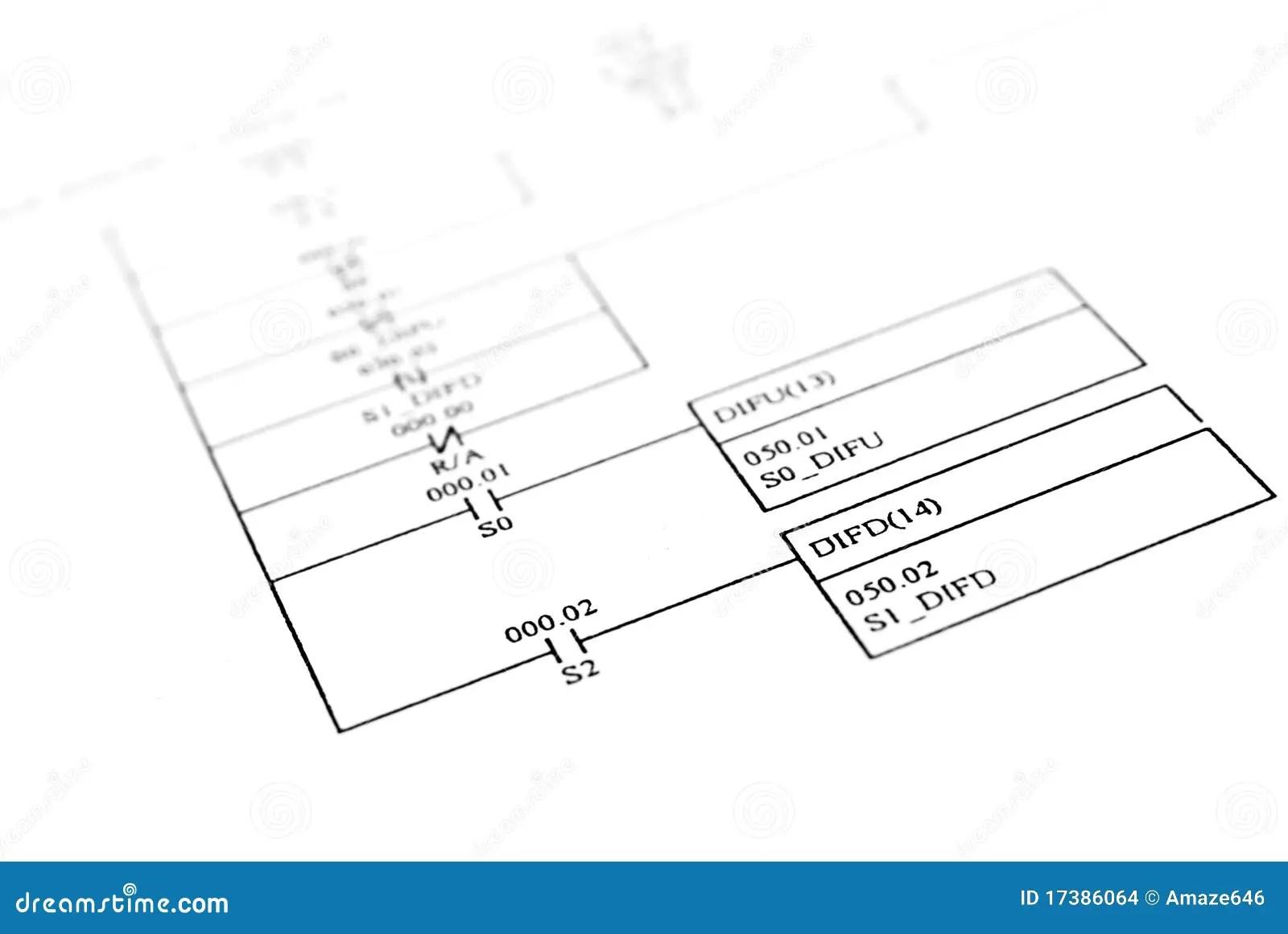 Schematic diagram stock photo. Image of schematic