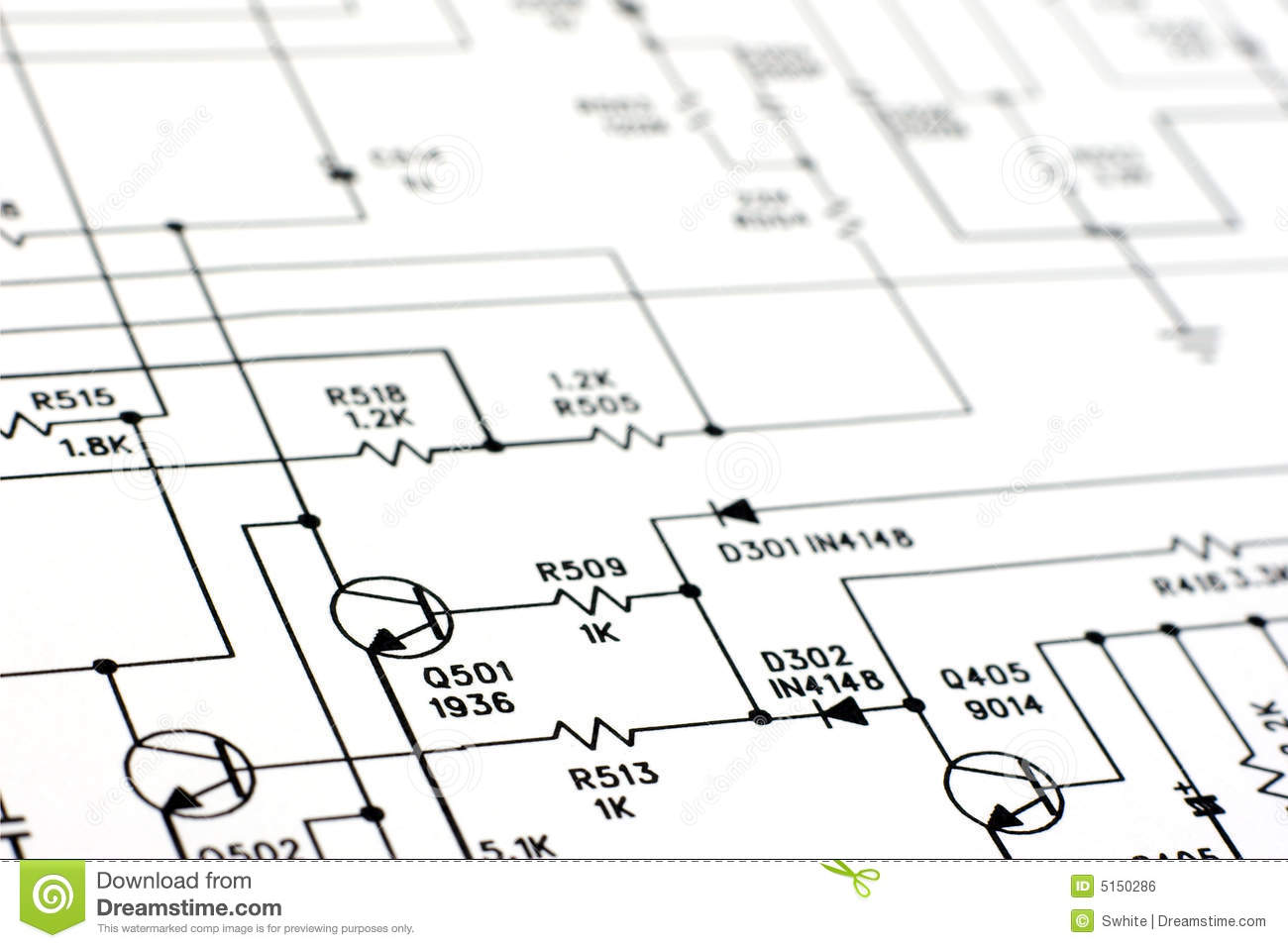 Schematic Diagram Stock Photo Image Of Engineering