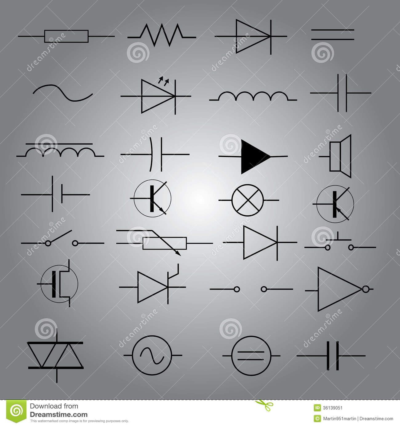 Electrical Diagram Symbols Free Download Wiring Diagram Schematic