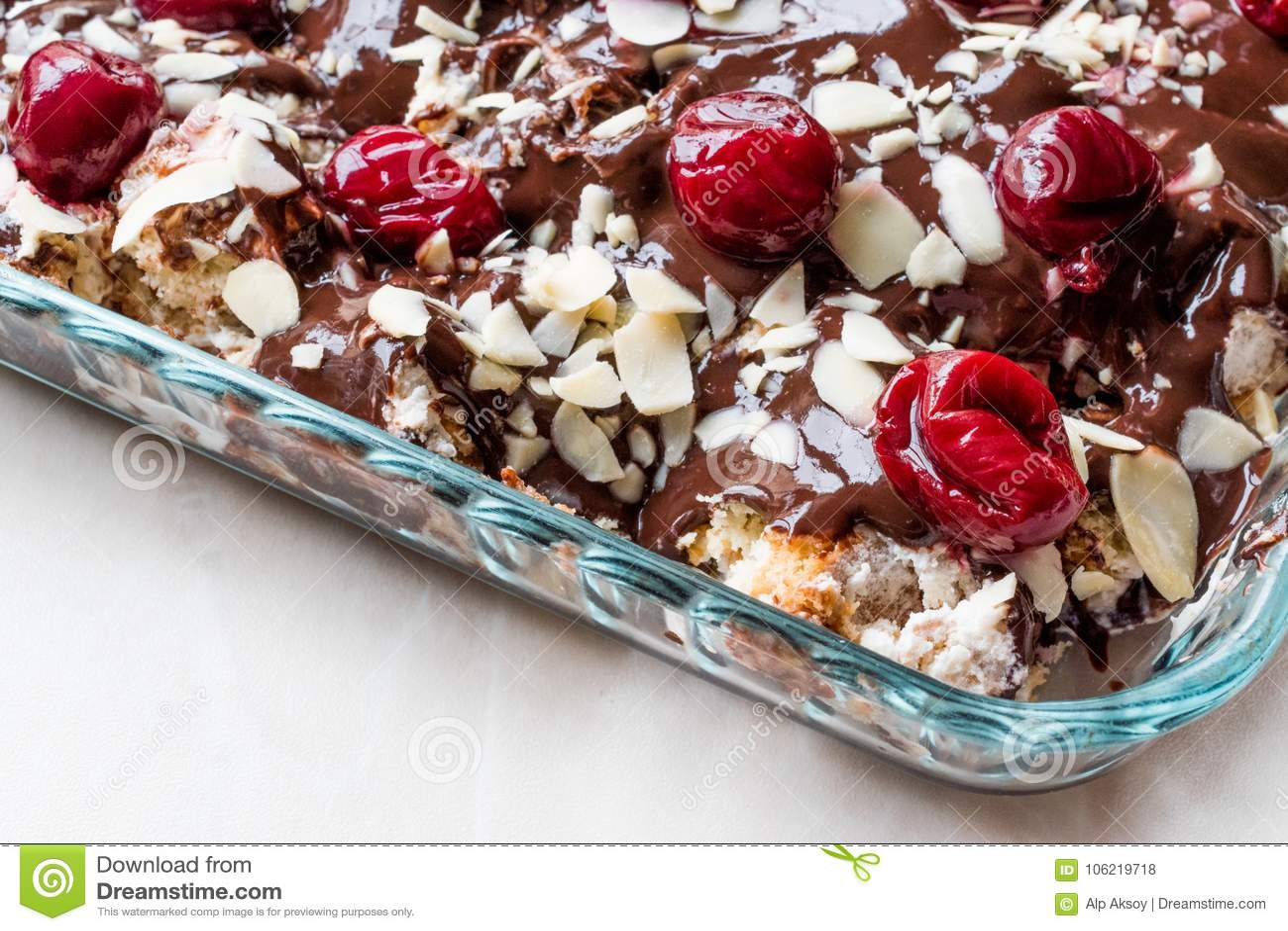 Pudding Kirsch Kuchen Ruf Kirschkuchen Mit Schokostuckchen 435g