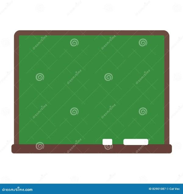 School Board Vector Illustration. Stock