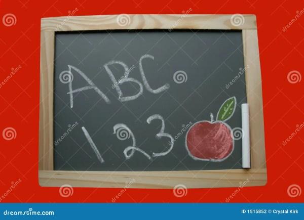 School Chalkboard Stock - 1515852