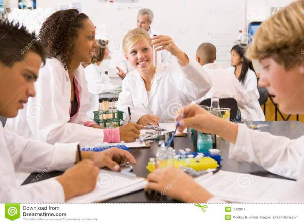 High School Science Lab Classes
