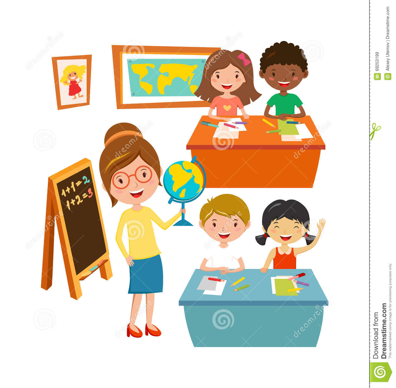 School Kids Education Elementary School Learning And