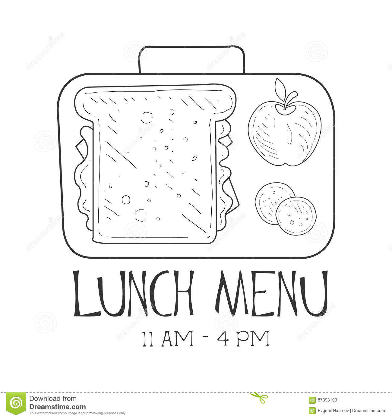 Lunch Menu Usd 497
