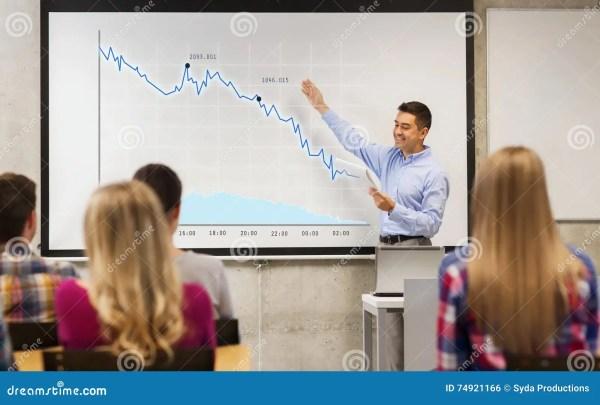 Teacher Showing Student Stock Image