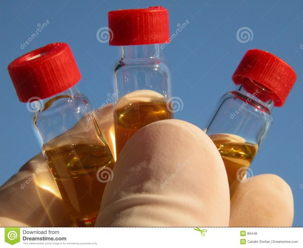 Science - 3 Vials 1 Royalty Free Stock 89448