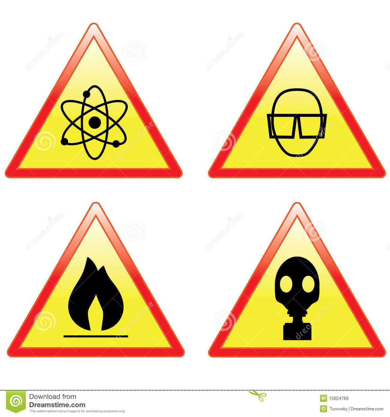Science Signs Royalty Free Stock Images