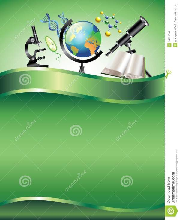 Scientific Vertical Background Royalty Free Stock