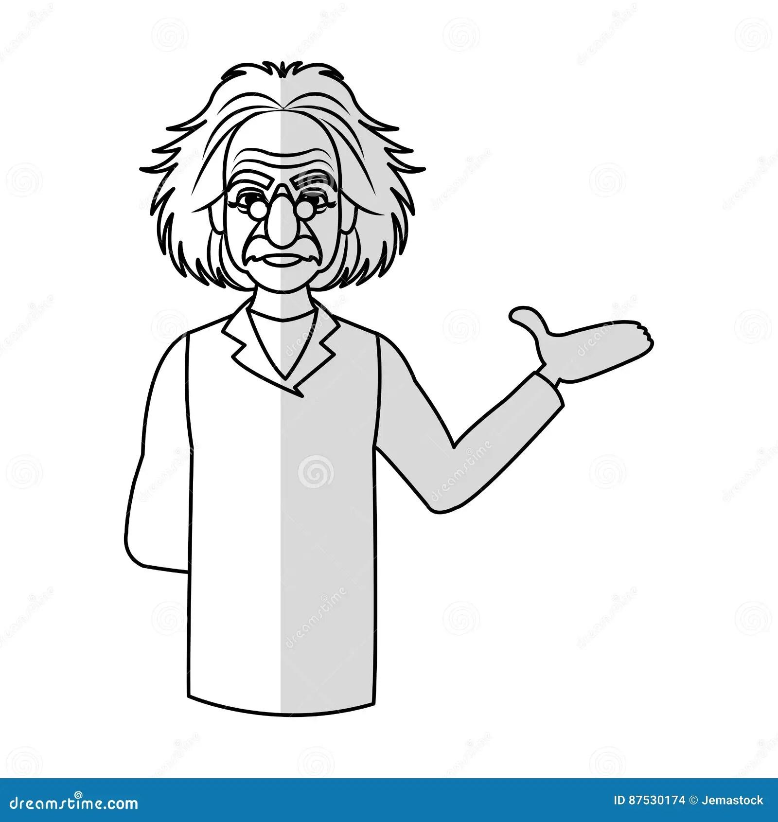 Einstein Cartoon Cartoons Illustrations Amp Vector Stock