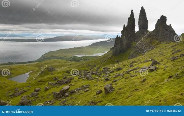 scottish basaltic landscape