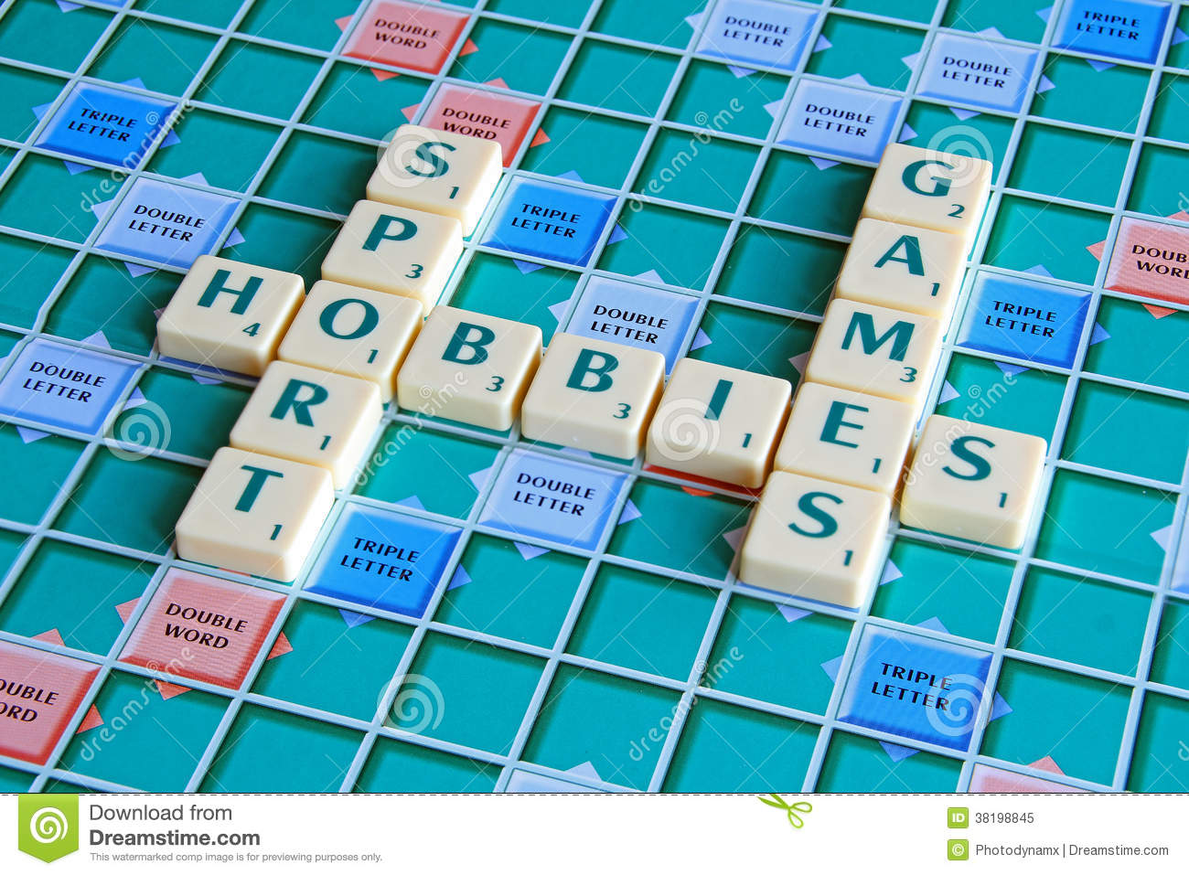 scrabble board games hobbies