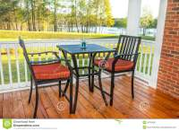 Screened In Deck Stock Photo - Image: 39745947