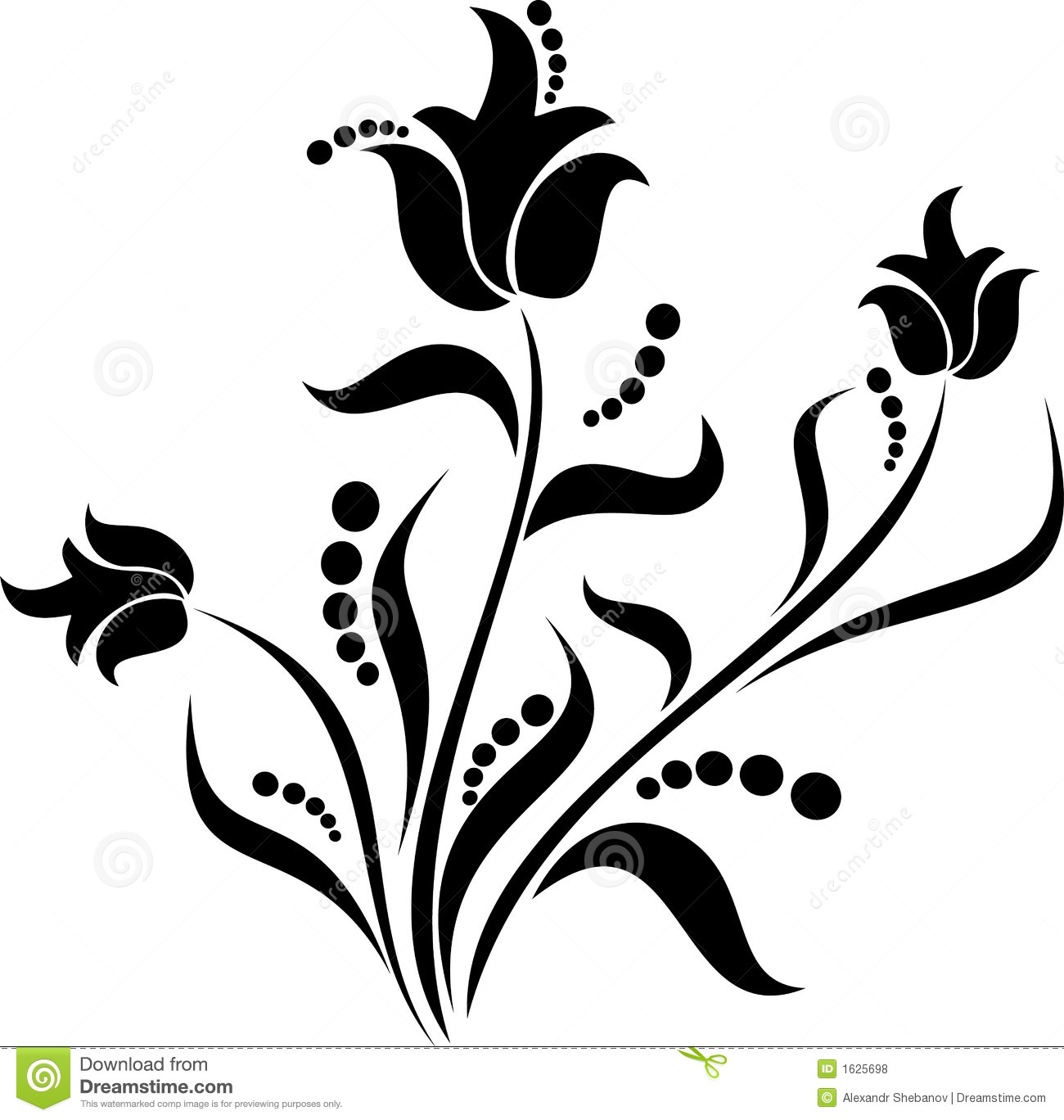 Scroll Design Stock Vector Illustration Of Elegance