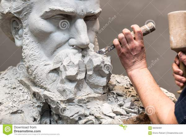 Sculptor Stock - Royalty Free Dreamstime