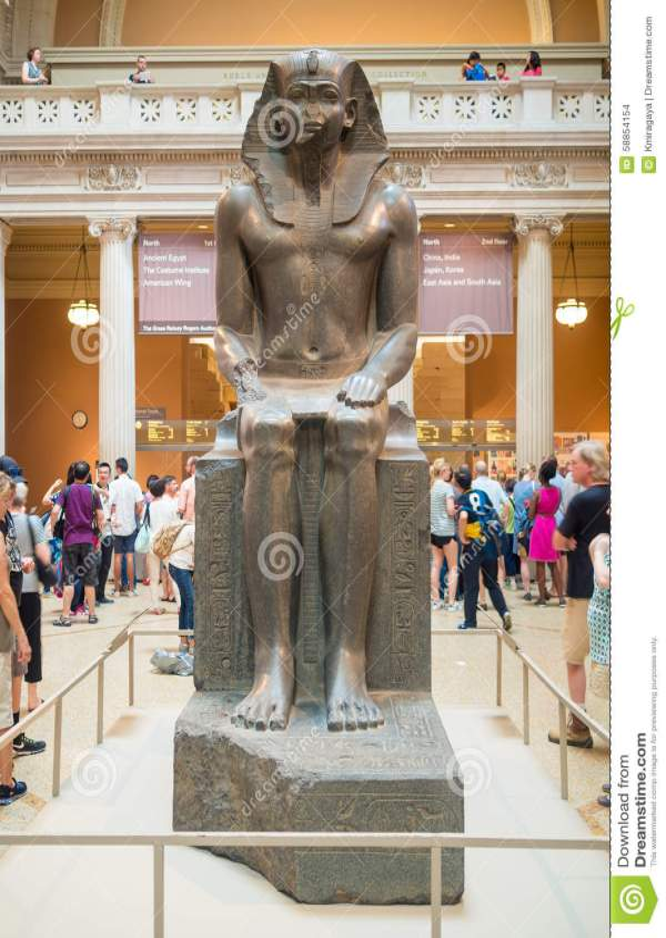 New York Metropolitan Museum Egyptian Art