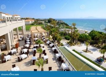 hotel restaurant luxury sea outdoor preview