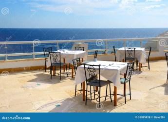 restaurant outdoor sea terrace luxury hotel sheikh sharm egypt el preview