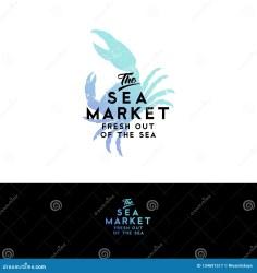 seafood silhouette crab watercolor isolated restaurant dark acquerello siluetta isolata scuro granchio frutti ristorante mare fondo dei dell