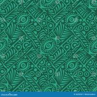 Peacock Abstract Design