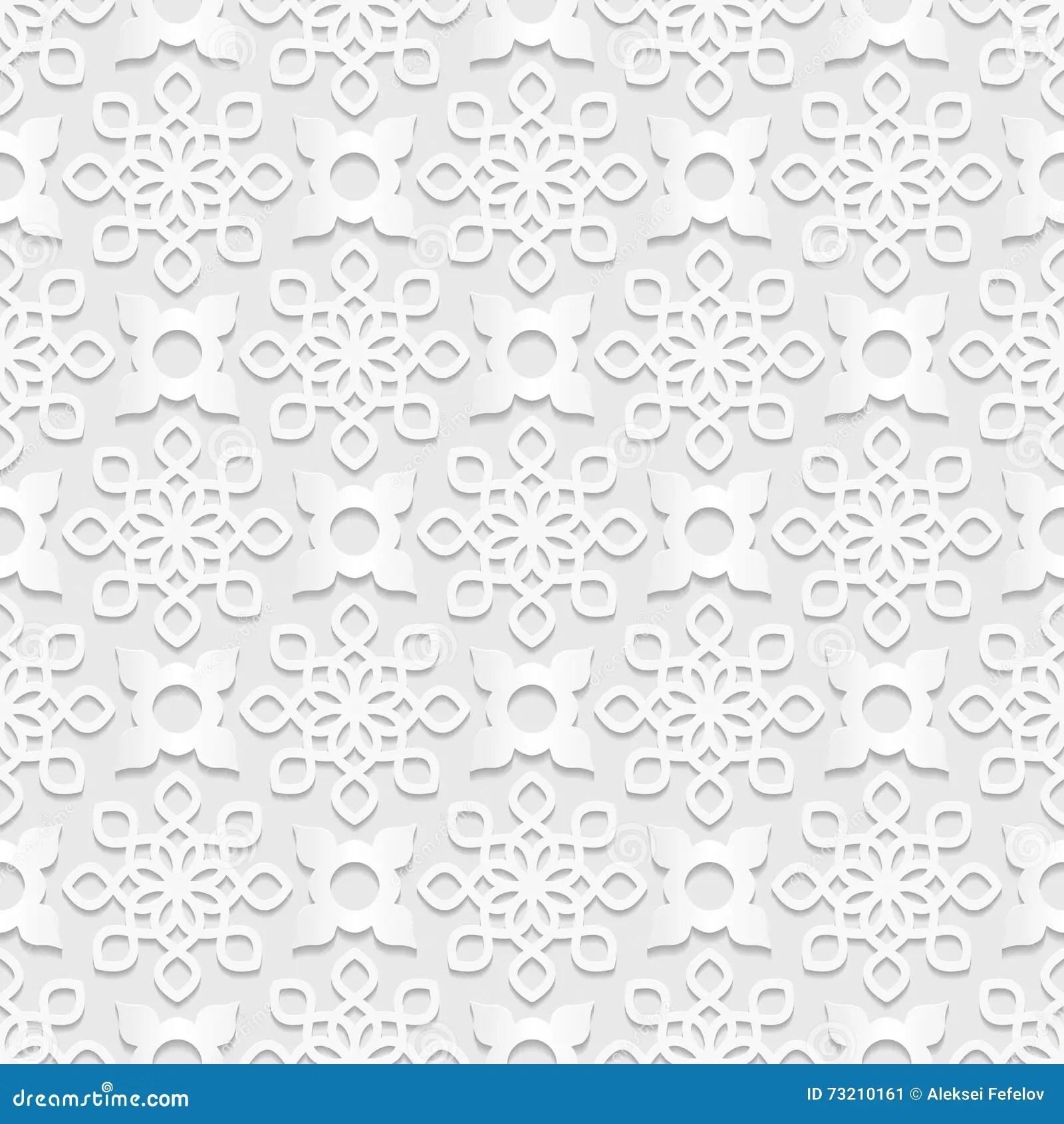 Persian Seamless Pattern. Vector Vector Illustration