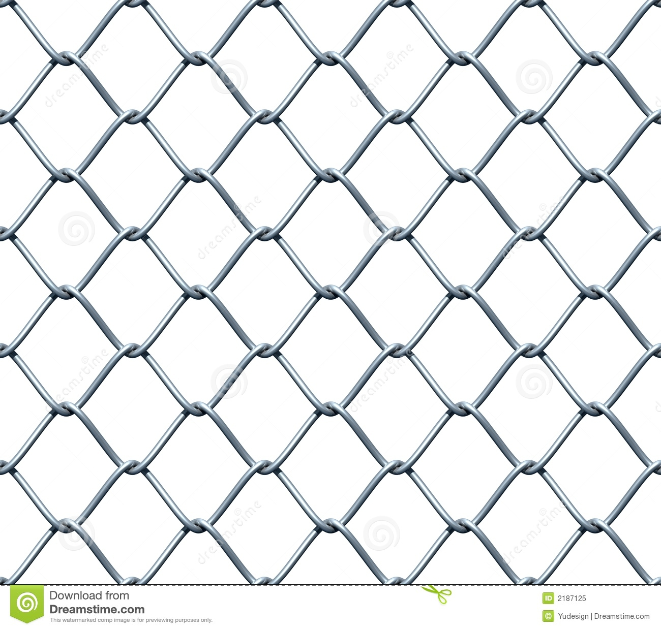 seamless chainlink fence stock
