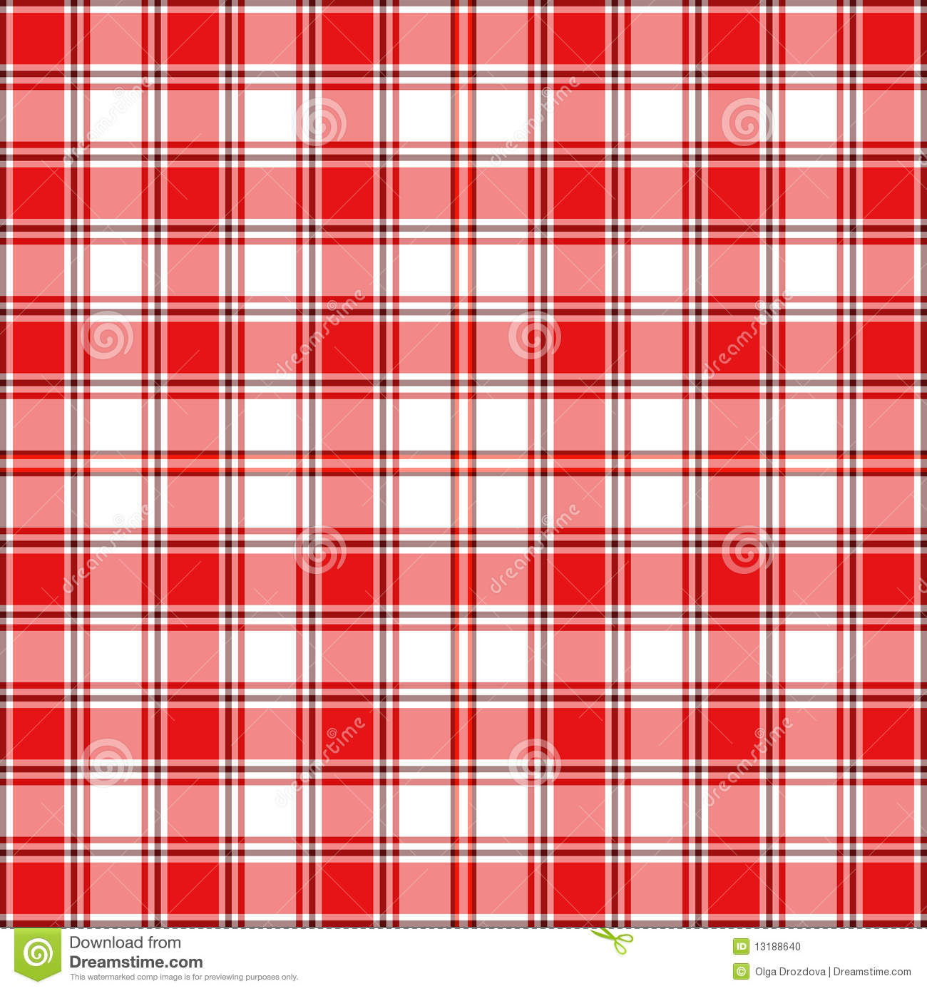 Seamless checkered pattern stock vector. Illustration of abstract - 13188640