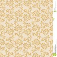 Seamless Fancy Floral Wallpaper Royalty Free Stock ...