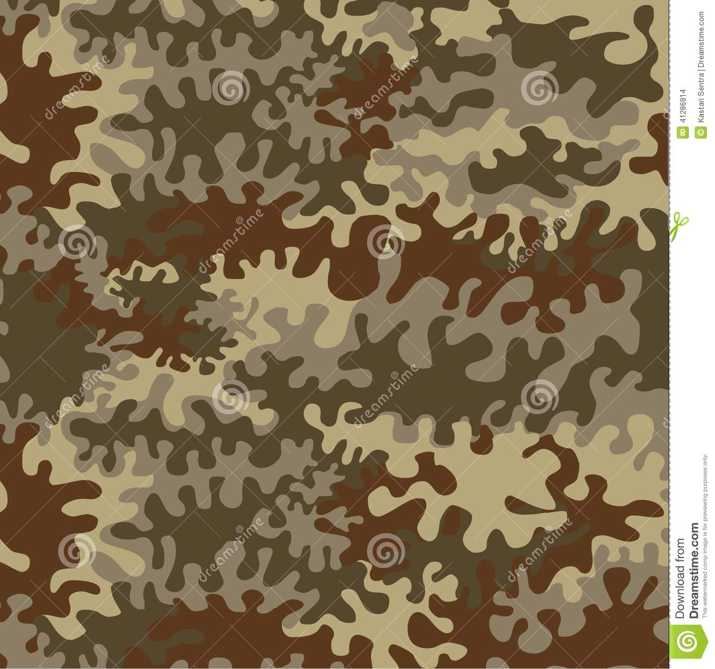 seamless forest camouflage stock