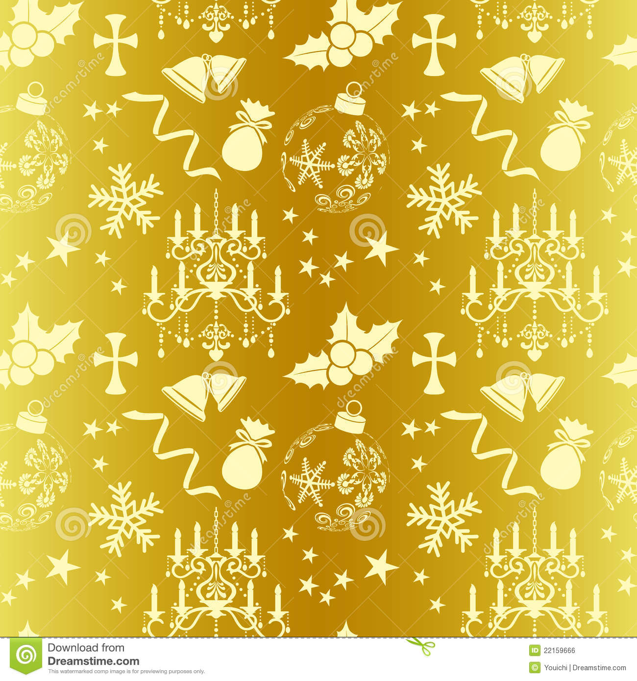 Cute Patterns For Wallpaper Seamless Gold Christmas Pattern Royalty Free Stock Image