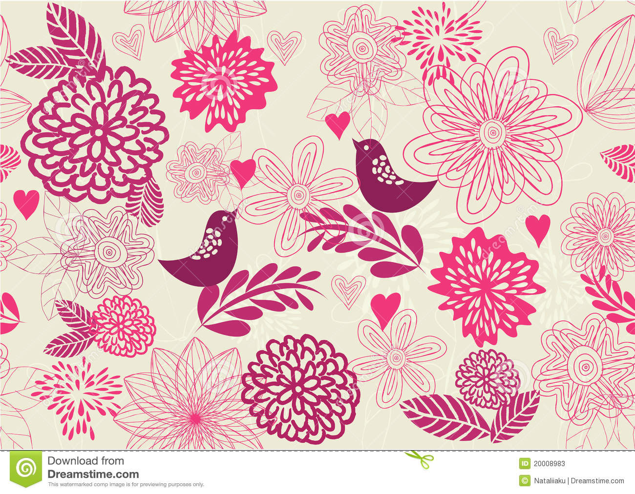 Cute Thanksgiving Wallpaper Retro Patterns Seamless Retro Floral Background In Vector Stock Photos