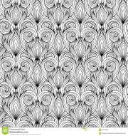 seamless texture with black